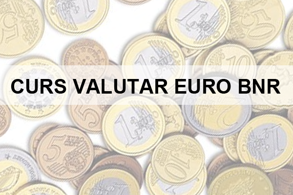 Curs Euro, curs valutar Euro BNR - Valutare.ro