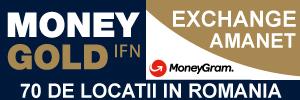 MONEYGOLD IFN - Amanet & Exchange, MoneyGram - 70 de locatii in Romania